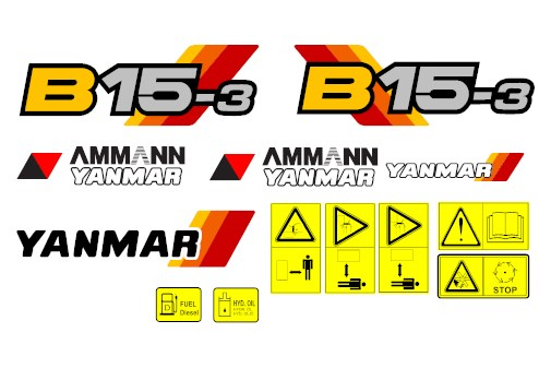 Yanmar b15 3